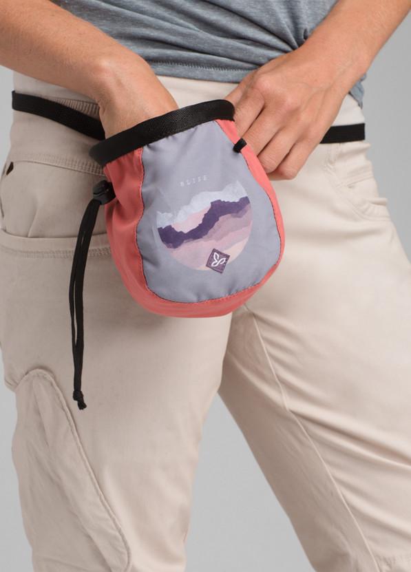 Women's Large Chalk Bag w/Belt Women's Large Chalk Bag w/Belt, Grey Bliss