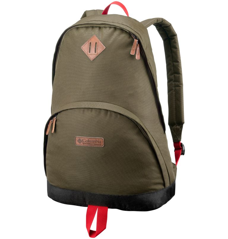 Classic Outdoor™ 20L Daypack | 258 | O/S Sac À Dos 20L Classic Outdoor™ Unisexe, Delta Heather, Mountain Red, front
