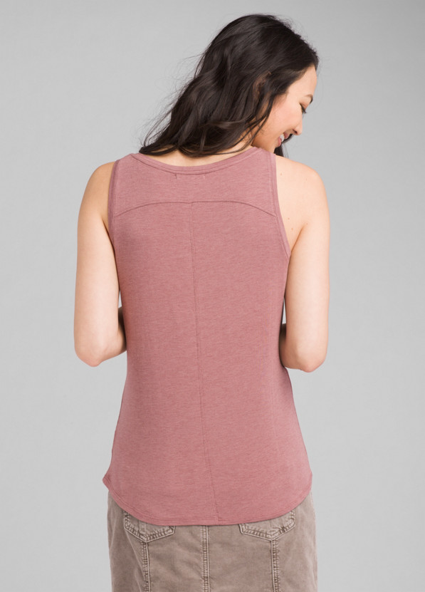 Foundation Scoop Neck Tank Foundation Scoop Neck Tank, Dark Mauve Heather