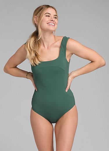 Loren Ribbed One Piece Swimsuit
