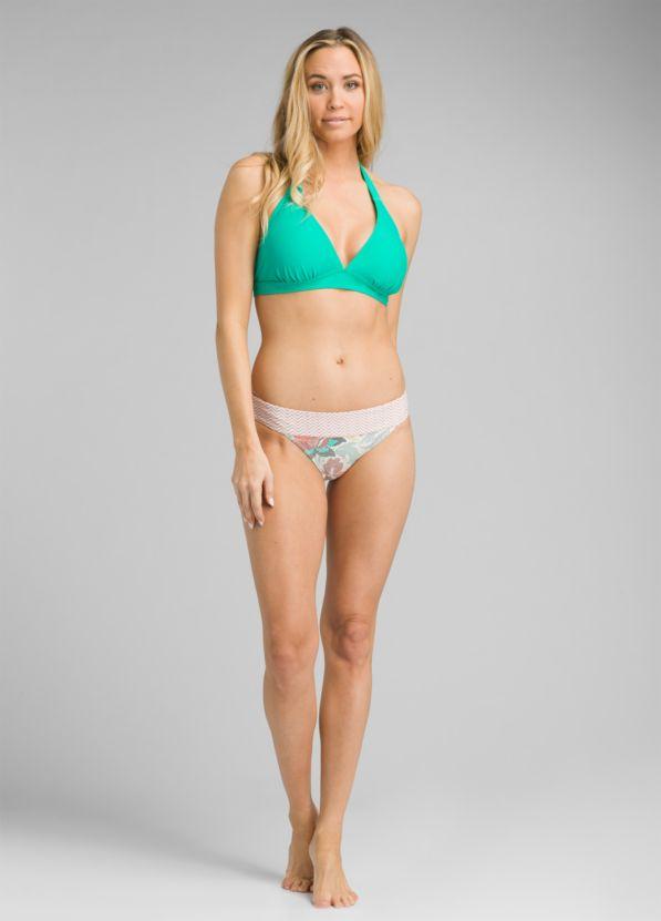 Lahari D/DD-Cup Halter Bikini Top, Aqua Wave