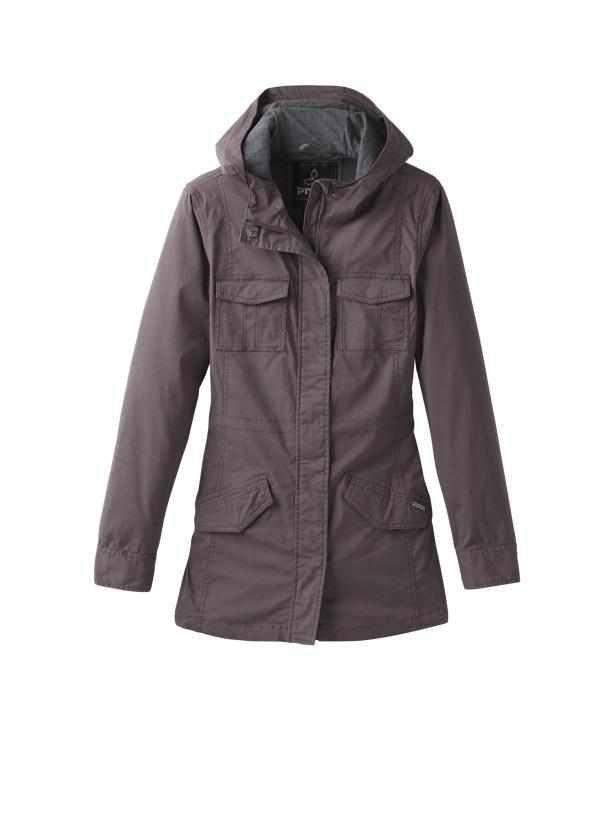 Mandel Jacket Mandel Jacket, Granite