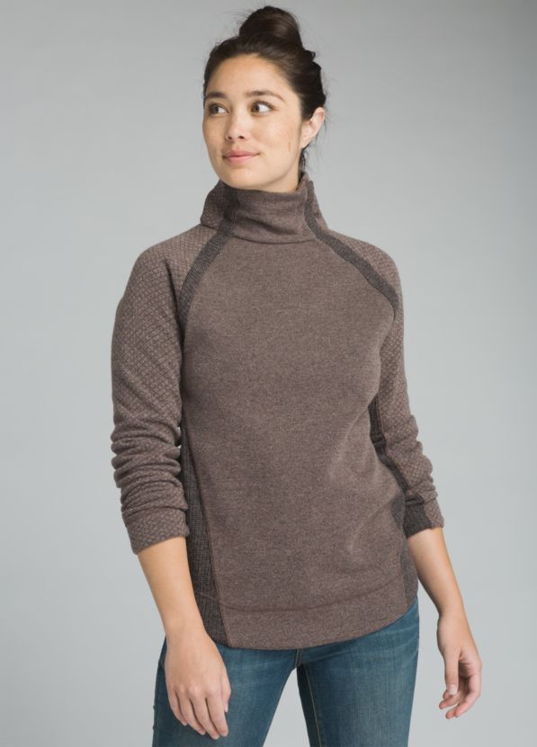 Brandie Sweater Brandie Sweater, Weathered Wood Heather