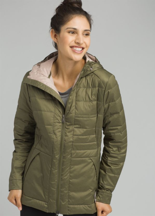Pyx Stretch Down Jacket Pyx Stretch Down Jacket, Cargo Green