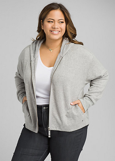Cozy Up Zip Up Jacket Plus