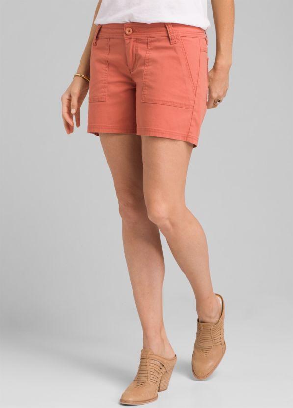 ef2034874139 Tess Short | Stretch Canvas Organic Cotton Mid-Rise Bottom | prAna