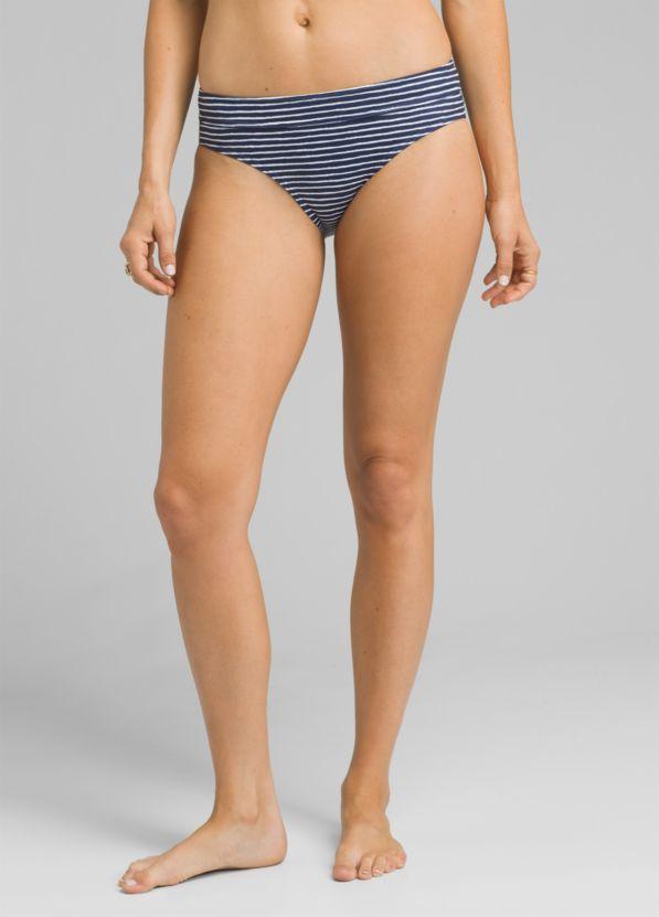 5633daed62d2 Ramba Full Coverage Bikini Bottom, Blue Anchor Stripe ...