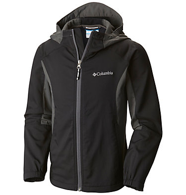 Boys' SplashFlash™ II Hooded Softshell Jacket , front
