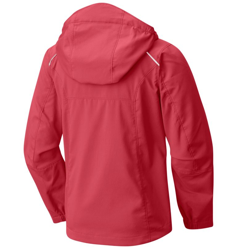 Boys' SplashFlash™ II Hooded Softshell Jacket Boys' SplashFlash™ II Hooded Softshell Jacket, back
