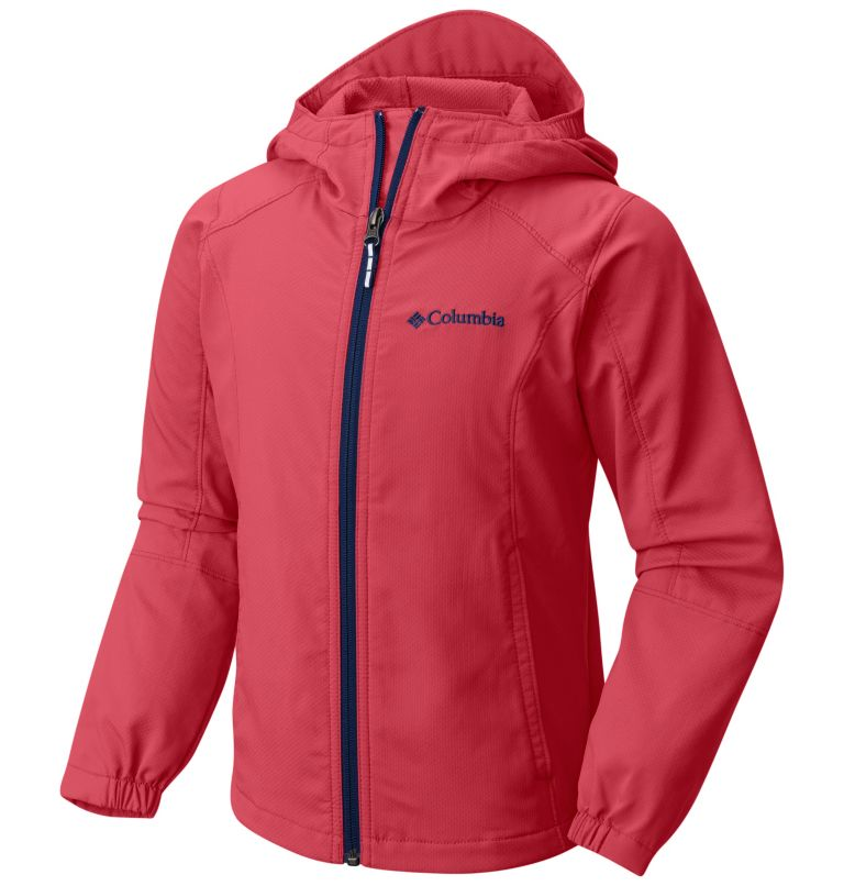 Boys' SplashFlash™ II Hooded Softshell Jacket Boys' SplashFlash™ II Hooded Softshell Jacket, front