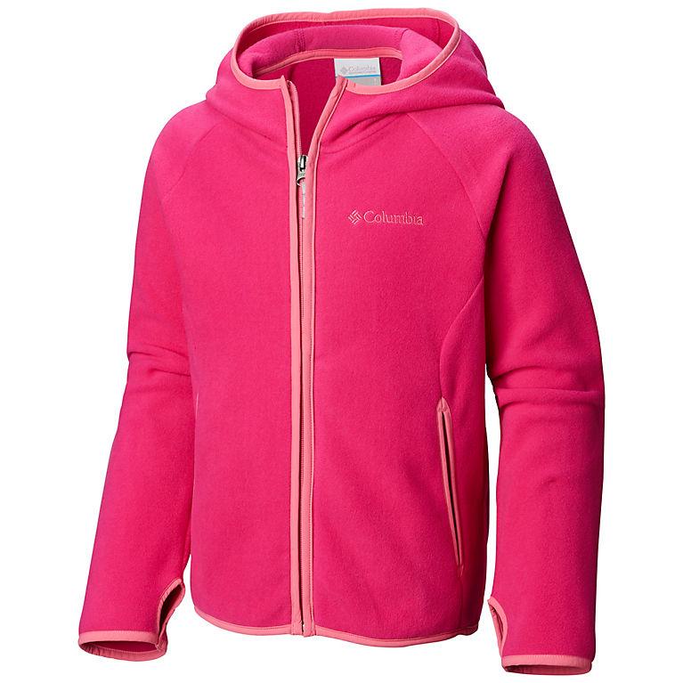 81bf5c8c Haute Pink, Wild Geranium Kids' Toddler Fast Trek™ Hoodie, View 0