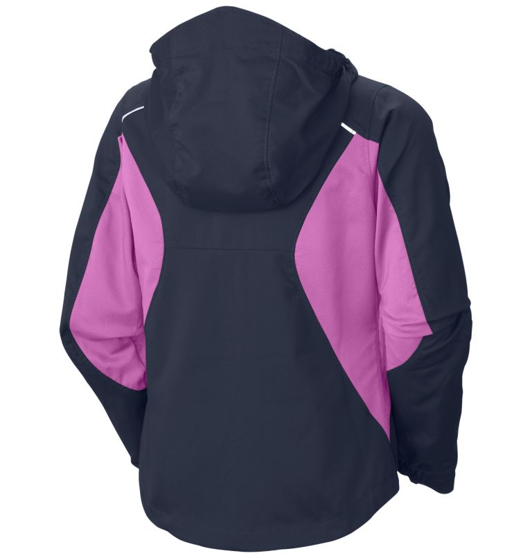 Girls' Splash Flash™ II Hooded Softshell Jacket Girls' Splash Flash™ II Hooded Softshell Jacket, back