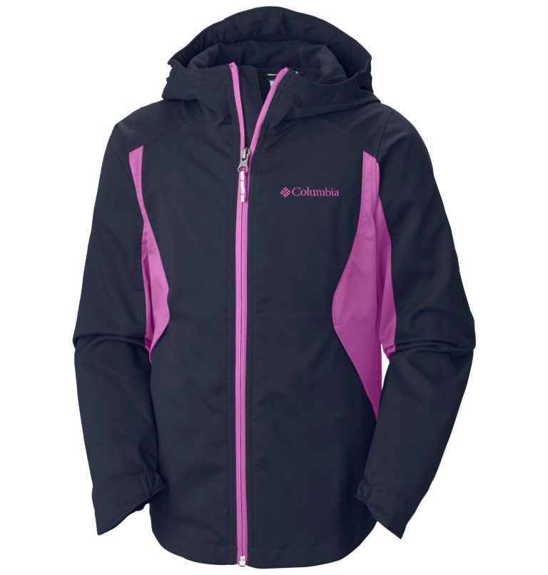 Girls' Splash Flash™ II Hooded Softshell Jacket Girls' Splash Flash™ II Hooded Softshell Jacket, front