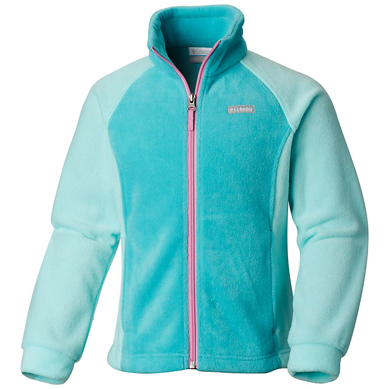 f8ac8a5fc953 Girls Benton Springs Zip Up Fleece Jacket