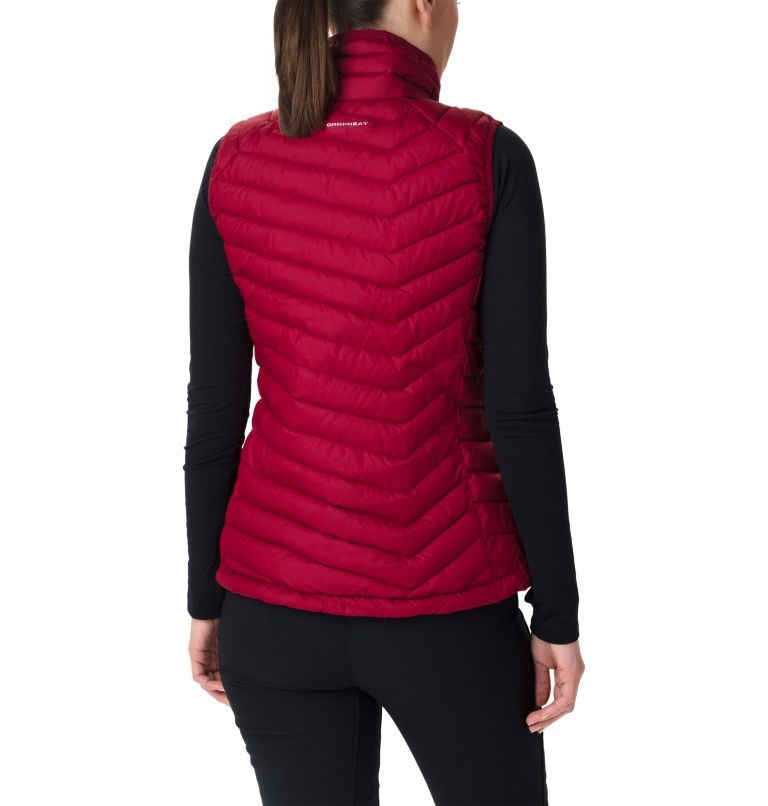 Powder Lite™ Vest | 607 | XL Gilet Powder Lite™ da donna, Beet, back