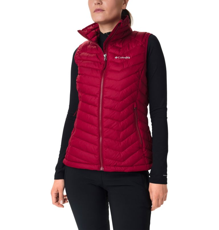 Powder Lite™ Vest | 607 | XL Gilet Powder Lite™ da donna, Beet, front