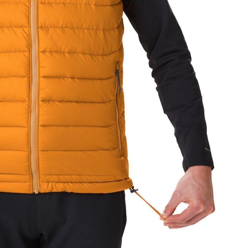 Powder Lite™ Vest | 795 | XL Men's Powder Lite Vest, Burnished Amber, a2