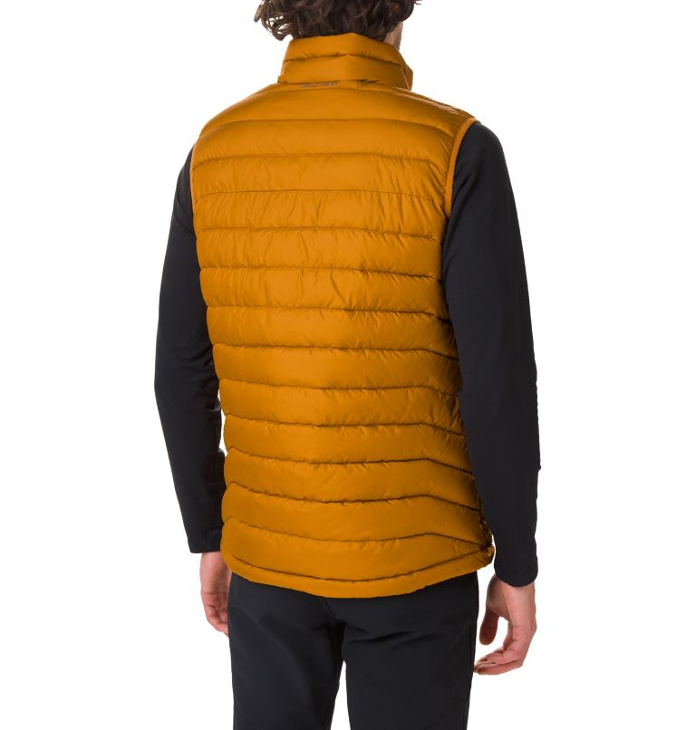 Powder Lite™ Vest | 795 | XL Men's Powder Lite Vest, Burnished Amber, back