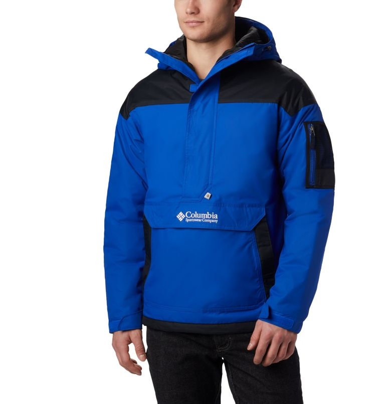Challenger™ Pullover | 437 | L Veste demi-zip Challenger Homme, Azul, Black, front