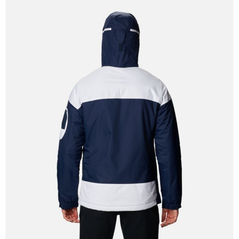 Collegiate Navy, Red Element Veste demi-zip Challenger Homme, View 1 c52b7c39b95d