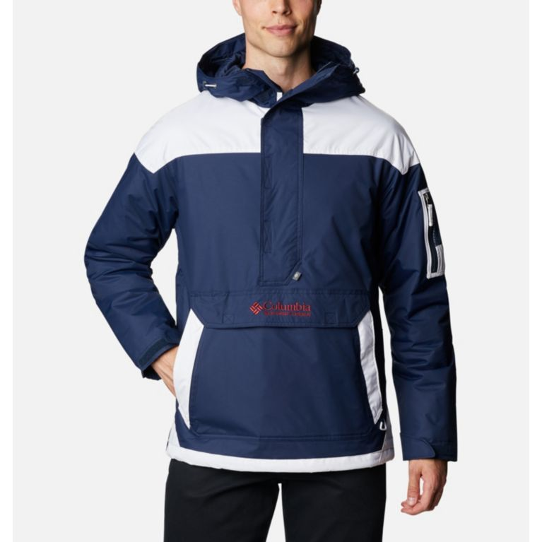 Collegiate Navy, Red Element Veste demi-zip Challenger Homme, View 0 ae6e5f716961
