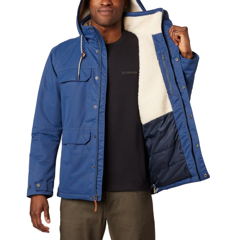 South Canyon™ Lined Jacket | 478 | M Men's South Canyon™ Mid Length Jacket, Dark Mountain, a4