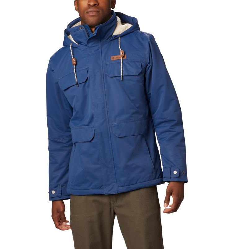 South Canyon™ Lined Jacket | 478 | M Men's South Canyon™ Mid Length Jacket, Dark Mountain, front