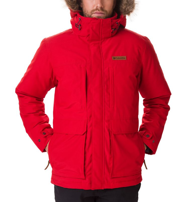 Marquam Peak™ Jacket | 613 | XL Men's Marquam Peak™ Jacket, Mountain Red, a1