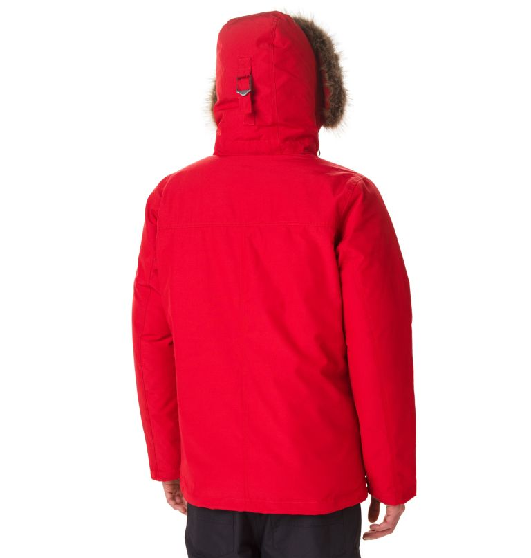 Marquam Peak™ Jacket | 613 | XL Men's Marquam Peak™ Jacket, Mountain Red, back