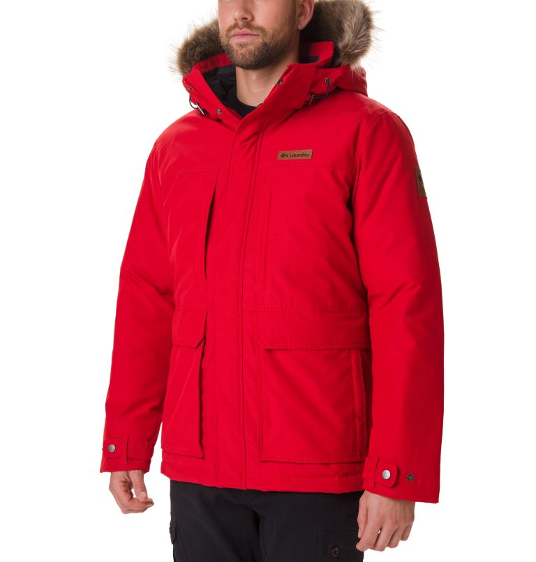 Marquam Peak™ Jacket | 613 | XL Men's Marquam Peak™ Jacket, Mountain Red, front