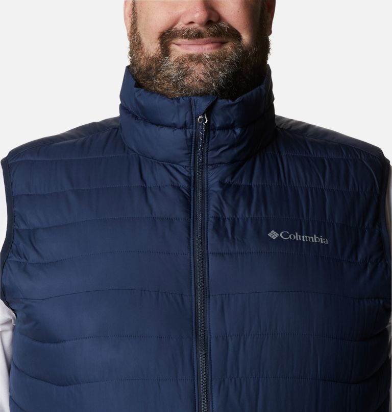 Powder Lite™ Vest | 465 | 2X Men's Powder Lite™ Vest - Plus Size, Collegiate Navy, a2