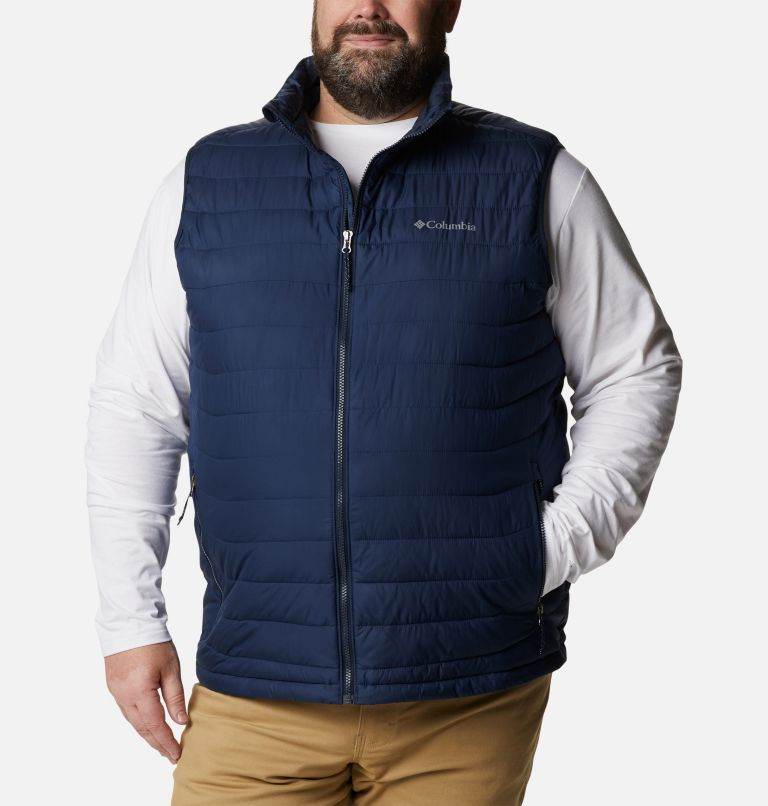 Powder Lite™ Vest | 465 | 2X Men's Powder Lite™ Vest - Plus Size, Collegiate Navy, front
