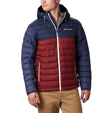Men's Powder Lite™ Hooded Jacket - Plus Size , front