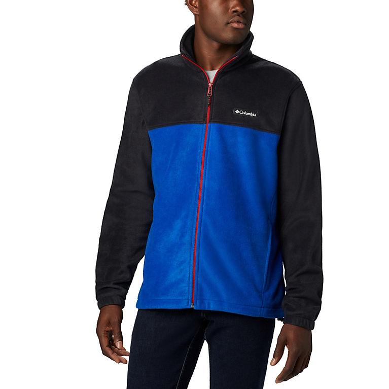 8379576a Black, Azul, Mountain Red Men's Steens Mountain™ 2.0 Full Zip Fleece Jacket  —
