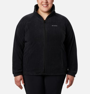 Women's Benton Springs™ Full Zip — Plus Size at Columbia Sportswear in Oshkosh, WI | Tuggl