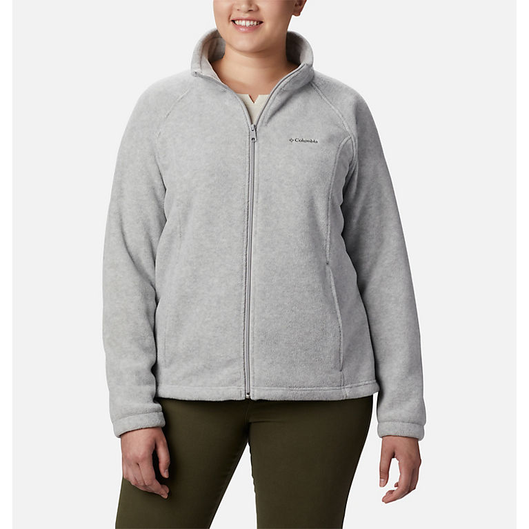 36fb5967ec5106 Cirrus Grey Heather Women s Benton Springs™ Full Zip — Plus Size