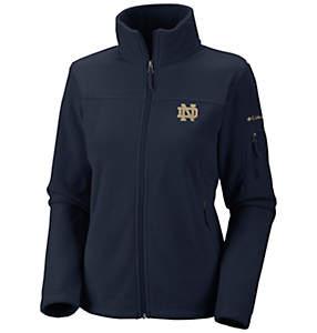Women's Collegiate Give and Go™ Full Zip Fleece Jacket - Notre Dame