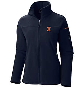 Women's Collegiate Give and Go™ Full Zip Fleece Jacket - Illinois