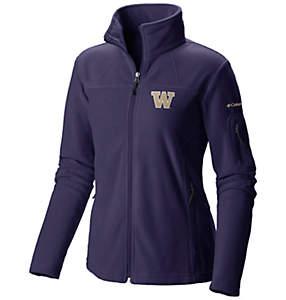 Women's Collegiate Give and Go™ Full Zip Fleece Jacket - Washington