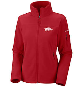 Women's Collegiate Give and Go™ Full Zip Fleece Jacket - Arkansas