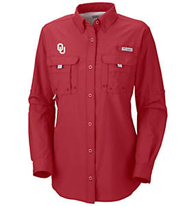Women's Collegiate Bahama™ Long Sleeve Shirt - Oklahoma