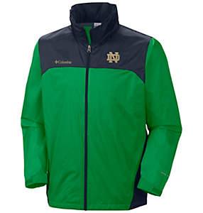 Men's Collegiate Glennaker Lake™ Stow-Hood Rain Jacket - Notre Dame