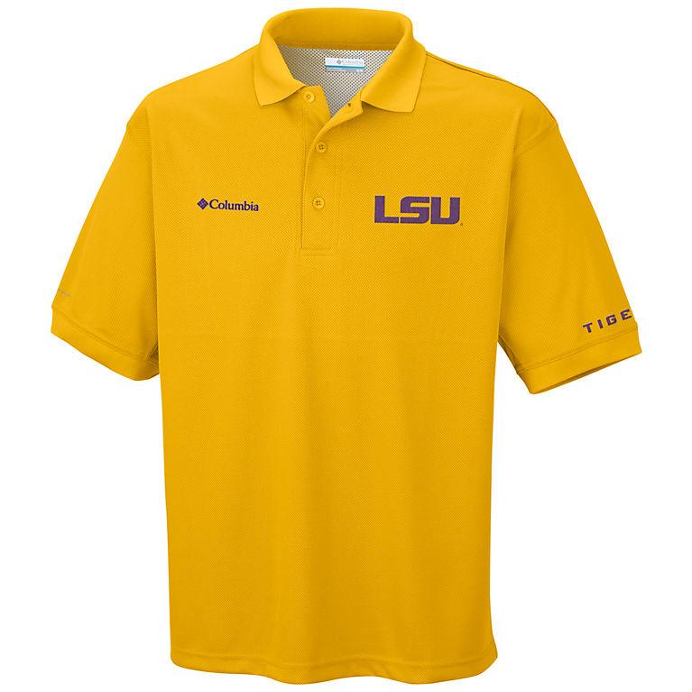 66a2e9b855968 LSU - Yellow Men s Collegiate Perfect Cast™ Polo - LSU
