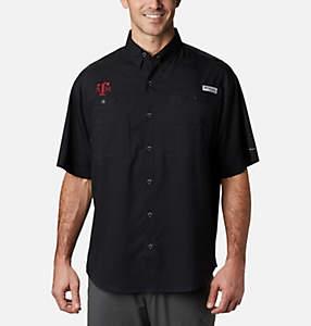 Men's Collegiate PFG Tamiami™ Short Sleeve Shirt