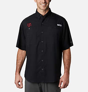Men's Collegiate PFG Tamiami™ Short Sleeve Shirt