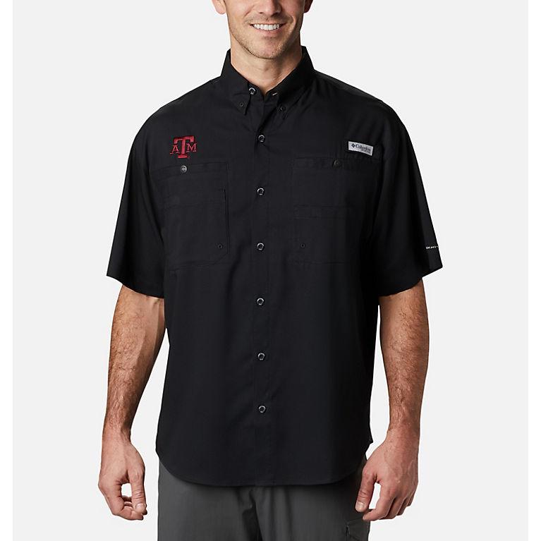 3dbcbc9f7fd Men's Collegiate Tamiami Quick-drying, Short-Sleeve Shirt. | Columbia