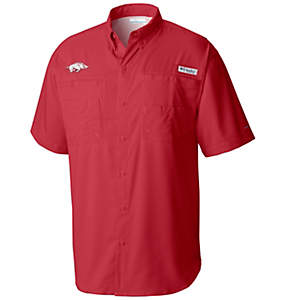 Men's Collegiate Tamiami™ Short Sleeve Shirt - Arkansas