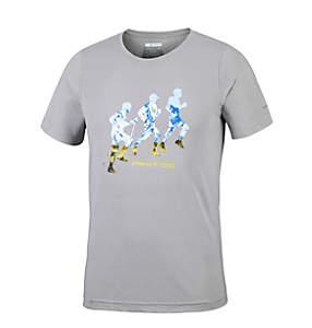 T-Shirt Manches Courtes Vise le Col Homme
