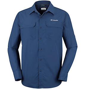 Men's Silver Ridge™ II Long Sleeve Shirt – Plus Size