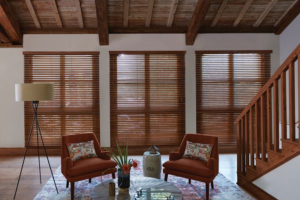 Custom Real Wood Blinds